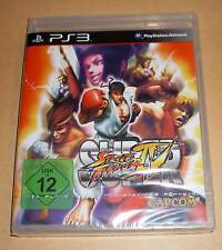 PlayStation 3-Super Street Fighter 4 IV-germano-ps3 nuevo embalaje original