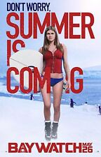 Baywatch Movie Poster (24x36) - Kelly Rohrbach, Alexandra Daddario v8