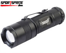 Hugsby V1 CREE Q5 LED 3 Mode 300 Lumens Torch 1.5V-4.2V 14500 Flashlight Black