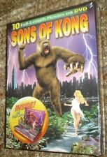 Sons of Kong (DVD, 2006), NEW & SEALED BOX SET, 10 MOVIES ON 3 DVDS, 3-D POP-UP
