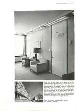 1961 Wall Panelling Office Us Embassy Eero Saarinen