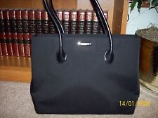 LARGE JONES NEW YORK BLACK FABRIC TOTE HANDBAG/PURSE