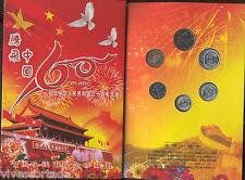 Cina Portamonete 60 anniversario banconote y monete 1949 / 2009 @ Spettacolare @