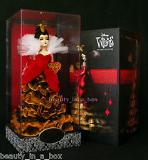 Queen of Hearts Villains Designer Doll Collection Disney Store Exclusive