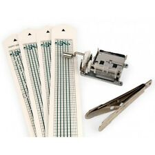 Kikkerland Hand Crack Shaft Mini Music Box Make Your Own Music Sheets Mechanical