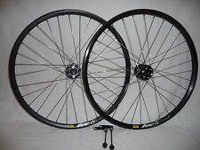 "Mavic XM319 26"" quality disc brake wheels with Shimano hubs"
