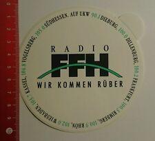 Aufkleber/Sticker: Radio ffh wir kommen rüber (21081623)