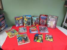 Super Hero 12 Action Figure Lot Spawn, Spiderman, Yu-Gi-Oh, Fantastic Four etc.