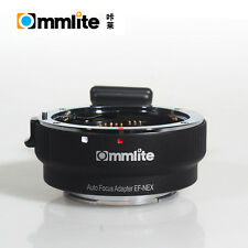 Commlite Auto Focus AF Adapter Canon EOS EF to Sony A6000 A6500 A6300 A7 II R S
