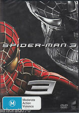 SPIDER-MAN 3 Tobey Macguire DVD R4 New / Sealed