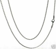 "Steel by Design Silver-tone 30"" Diamond Cut Chain Necklace"