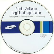 SAMSUNG All-In-One Laser Printer CLX-3170 SERIES CD-ROM JC46-00395A