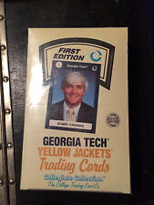 Georgia Tech University Yellow Jackets Bobby Cremins First Edition Trading Cards