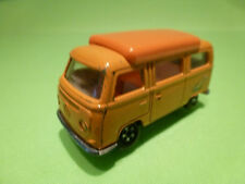 MATCHBOX 23 VW VOLKWAGEN BUS CAMPER - ORANGE 1:66? - GOOD CONDITION