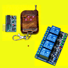 IC2272 IC2262 4 Channel Wireless Remote Control Kit + 5V 4-Channel Relay Module