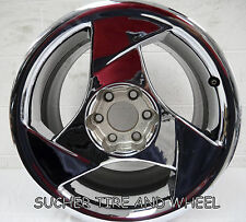 DODGE VIPER FACTORY OEM WHEEL RIM  CHROME 3 SPOKE FRONT LEFT WHEEL 2320