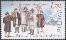 Moldova 2013 Christmas/Greetings/Carol Singers/Singing/Music 1v (n45251)