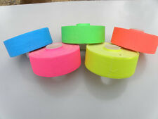 "5 Roll Pack UV Neon Gaffers Hoop Tape 1"" 30 ft Rolls ALL Neon Colors Hula"