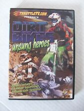 DIRT BIKES UNSUNG HEREOS, THROTTLETC, DVD, 2011