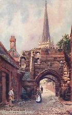 Leicester, Prince Rupert's Gate, Tuck Oilette postcard by Charles E. Flower