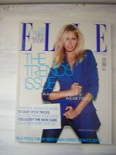 Elle UK Fashion Magazine February 2008, Karolina Kurkova,trend issue,Roksanda