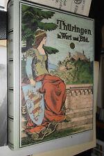 Thüringen in Wort und Bild (1900), Reprint Weltbild 1997 gebunden