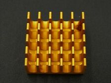 10pcs 22x22x10mm High Power CPU Radiator Heat Sink With Thermal Tape new