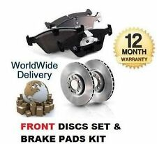FOR TOYOTA HILUX SURF 3.0TD IMPORT 95-00 FRONT BRAKE DISCS SET AND DISC PADS KIT