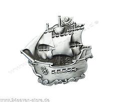 NEU Gürtelschnalle Pirat Schiff Captain Wechselgürtel Gürtel Schnalle Buckle 199