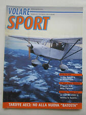 SUPPLEMENT REVUE VOLARE SPORT 2/00 SKY RANGER 2 PIPISTREL VIRUS TARIFFE AECI