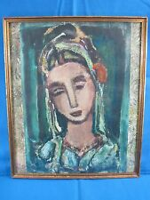 Vintage Antique Sainte Marthe by Georges Rouault Lithograph