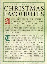 The Library Of Christmas Favourites Learn to Play Piano Vocal Guitar Music Book