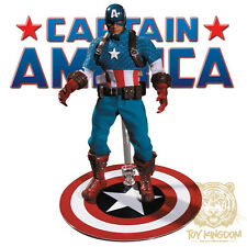 "CAPTAIN AMERICA - Mezco One:12 Collective 6"" Marvel Action Figure - SEALED/NEW"