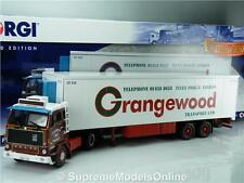 VOLVO F89 FRIDGE GRANGEWOOD CC15602 1/50TH SCALE CORGI MODEL TRUCK LONDON K867Q~