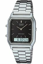 Casio Mens Classic Combi Timer Stopwatch Dual Time Watch AQ230A-1DMQ New