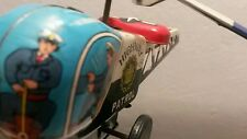 VINTAGE TIN TOY HELICOPTER PATROL JAPAN 1960's ORIGINAL YONE PID
