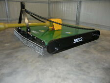 HAYES TRACTOR SLASHER 5FT HEAVY DUTY 5mm DECK, 2YR COMMERCIAL G/BOX WARRANTY