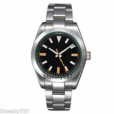 40mm Black Dial Sapphire Glass Milgauss Style Automatic Mens Watch PA-260-B