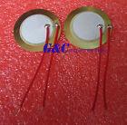 20PCS 27mm Piezo Elements Sounder Sensor Trigger Drum Disc + wire copper M19