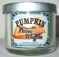 Bath & and Body Works Home 1.3 oz 10 hrs Scented Candle Pumpkin Pecan Waffles