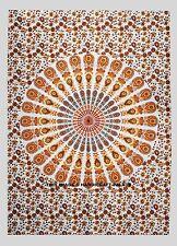 Indisch Pfau Mandala Hippie Wandbehang Decor Böhmer Tapisserie-Strand Wurf