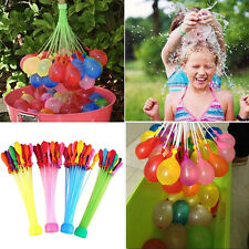 111Pcs/Pack Fast Fill Water Balloon Self Tying Water Balloons Party Xmas Bombs