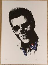 PAUL INSECT - DEAD REBELS ELVIS, SIGNED AND NUMBERED EDITION OF 100 2006 PRINT