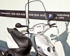 Parabrisas con soporte Material de montaje Universal Patinete Scooter Ciclomotor