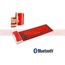 Bluetooth Wireless Washable Water-proof Flexible Silicone Roll UP Keyboard ue2