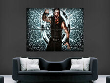 WWE ROMAN REIGNS  WRESTLING WALL POSTER ART PICTURE PRINT LARGE  HUGE