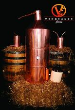 "40 Gallon Copper Whiskey Moonshine Still with worm and thumper ""Full Kit"""