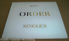 NEW ORDER Singles - 2 CD PROMO GATEFOLD ALBUM, London Records PROP05369 2005, EX