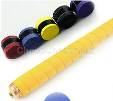 Absorb stretchy Tennis Squash Racquet Band Grip Anti-slip Tape Overgrips 6Z7
