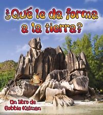 Que le da Forma a la Tierra? What Shapes The Land? (Observar La Tierra-ExLibrary